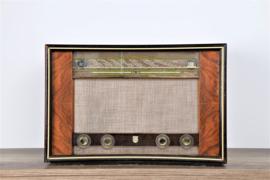 A.bsolument Nr. 672 - Echte Vintage Jaren 50 Radio met Bluetooth en audio ingang