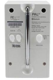 Tivoli Audio Model PAL+ BT oplaadbare radio met DAB+, FM en Bluetooth, zwart-wit