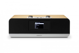 Roberts Stream 67 Smart Audio Systeem met internetradio, Multiroom, DAB+, FM, USB, Spotify en Bluetooth, natural wood