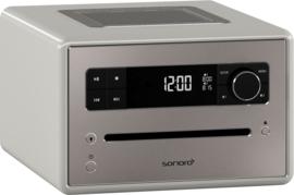 Sonoro Qubo muzieksysteem met DAB+, FM, CD en Bluetooth, sandstone