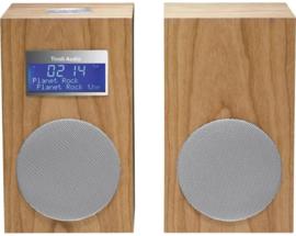 Tivoli Audio Model 10+ DAB+ en FM stereo radio systeem met extra luidspreker, Cherry, EX SHOWMODEL