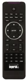 Imperial DABMAN i400 mini hifi tuner voor stereo installaties met internetradio, USB, DAB+, FM en Bluetooth, zwart