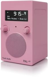 Tivoli Audio Model PAL+BT 2021 oplaadbare radio met DAB+, FM en Bluetooth, roze