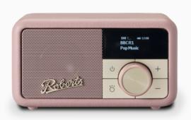 Roberts Revival Petite mini DAB+ en FM radio met Bluetooth ontvangst, Dusky Pink