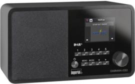 Imperial DABMAN i150 hybride internetradio met DAB+ en FM, zwart