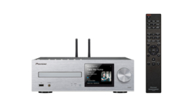 Pioneer XC-HM86D stereo HiFi receiver met CD, DAB, FM, streaming internetradio, Spotify Connect en Bluetooth, zilver