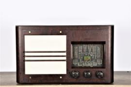 A.bsolument Nr. 629 - Echte Vintage Jaren 40 Radio met Bluetooth en audio ingang