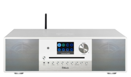 Block SR-100 Smartradio high end all-in-one radio muziek systeem, wit
