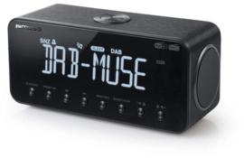 Muse M-196 DBT DAB+ en FM wekker klokradio met groot display en Bluetooth ontvangst