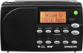 Sangean Traveller 650 (DPR-65) DAB+ en FM radio met presets