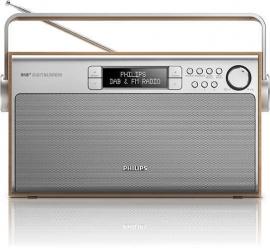 Philips AE5220/12 retro stereo DAB+ en FM portable radio