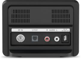 TechniSat DigitRadio 10 IR mini stereo tuner met internet, Spotify, DAB+, FM en Bluetooth voor stereo installaties