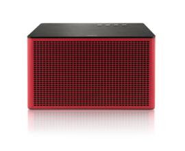 Geneva Acustica hi-fi Bluetooth en lijn-in luidspreker, rood