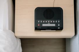 Sangean DCR-89+ DAB+ en FM wekker radio, zwart