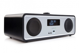 Ruark Audio R2 stereo systeem DAB+, FM, Internetradio, Bluetooth, USB en Spotify, Soft Black