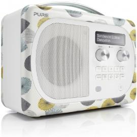 Pure Evoke D4 Mio Sanderson portable DAB+ en FM radio met Bluetooth, Dandelion