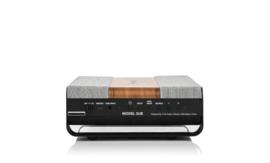 Tivoli Audio ART Model SUB, Wifi subwoofer, walnoot/grijs