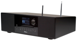 Block SR-100 Smartradio high end all-in-one radio muziek systeem, zwart