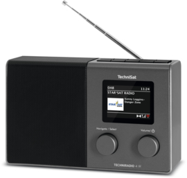 TechniSat TECHNIRADIO 4 IR digitale portable radio met DAB+, FM en internet