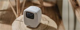 Sangean DCR-83 DAB+ en FM wekker radio met Bluetooth, wit
