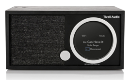 Tivoli Audio ART Model One Digital Generatie 2 met internetradio, DAB+, FM, Spotify en Bluetooth, black ash