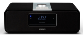 Roberts Blutune 200 stereo muziek systeem met CD, USB, Bluetooth, DAB+ en FM radio met opname, zwart, OPEN DOOS