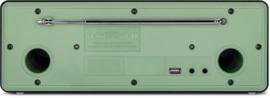 Nordmende Transita 320 DAB+ en FM stereo radio met CD-speler en Bluetooth, groen
