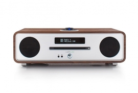 Ruark Audio R4 Mk3 IMS Stereo muziekcentrum met CD, DAB+, Bluetooth, FM en USB, Rich Walnut, OPEN DOOS