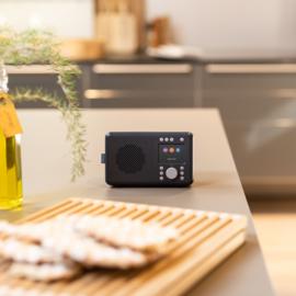 Pure Elan DAB+ en FM portable radio met Bluetooth, Charcoal