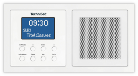 Technisat DigitRadio UP 1 DAB+, FM en Bluetooth inbouwradio, wit