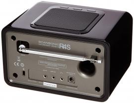 Scansonic R4 S DAB+ en internetradio, wit