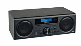 TechniSat DigitRadio 350 CD radio met DAB+, FM, CD en USB, zwart ex-demo
