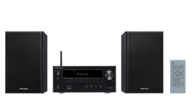 Pioneer X-HM36D stereo HiFi systeem met CD, DAB, FM, streaming internetradio, Spotify Connect en Bluetooth, zwart