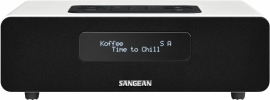 Sangean DDR-36 BT digitale tafelradio met DAB+, FM en Bluetooth, wit