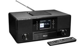 Block SR-50 Smartradio all-in-one stereo 2.1 radio met CD, internetradio, DAB+, Spotify, USB en Bluetooth, zwart