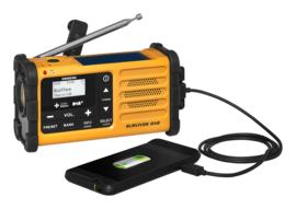 Sangean Survivor MMR-88+ DAB+ radio met zonnepaneel en dynamo