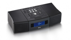 Boston CD Recepter Radio (zwart)