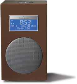 Tivoli Audio Model 10+ DAB+ en FM radio, Chestnut Brown, EX SHOWMODEL