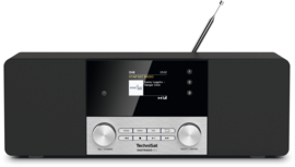 TechniSat DigitRadio 4C stereo tafelradio met DAB+ digital radio, FM en Bluetooth