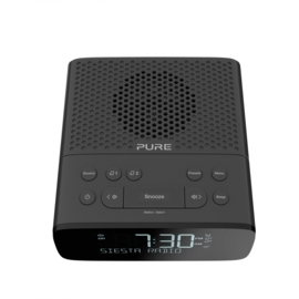 Pure Siesta S2 DAB+ en FM wekkerradio, donkergrijs