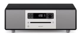 sonoro STEREO 2 SO-320 2.1 stereo muzieksysteem met DAB+ en FM, CD speler, USB en Bluetooth, mat zwart