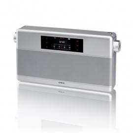 Geneva WorldRadio DAB+ met FM, Bluetooth en alarm in zilver