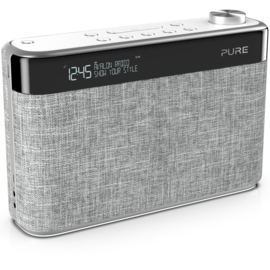 Pure Avalon N5 DAB+ en FM radio met Bluetooth, Pearl Grey, OPEN DOOS