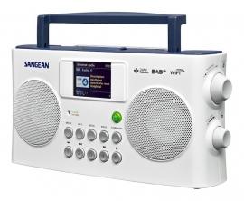 Sangean WFR-29C Internet radio met DAB+ en FM met kleurenscherm, wit
