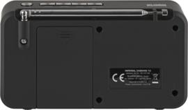 Imperial DABMAN 13 compacte DAB+ radio met FM en audio afspelen via USB en micro SD, zwart