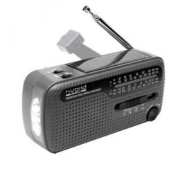 Muse M-07 DS opwindbare AM / FM / SW radio met zonnepaneel