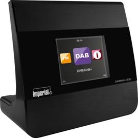 Imperial DABMAN i400 mini hifi tuner met internetradio, USB, DAB+, FM en Bluetooth, zwart