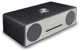 Soundmaster DAB950 CA stereo muziekcentrum met DAB+, CD, USB en Bluetooth, zwart