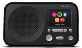 Pure Elan IR5 draagbare internet radio met Spotify Connect en Bluetooth, zwart