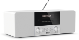 TechniSat DigitRadio 4 stereo tafelradio met DAB+ digital radio, FM en Bluetooth, wit